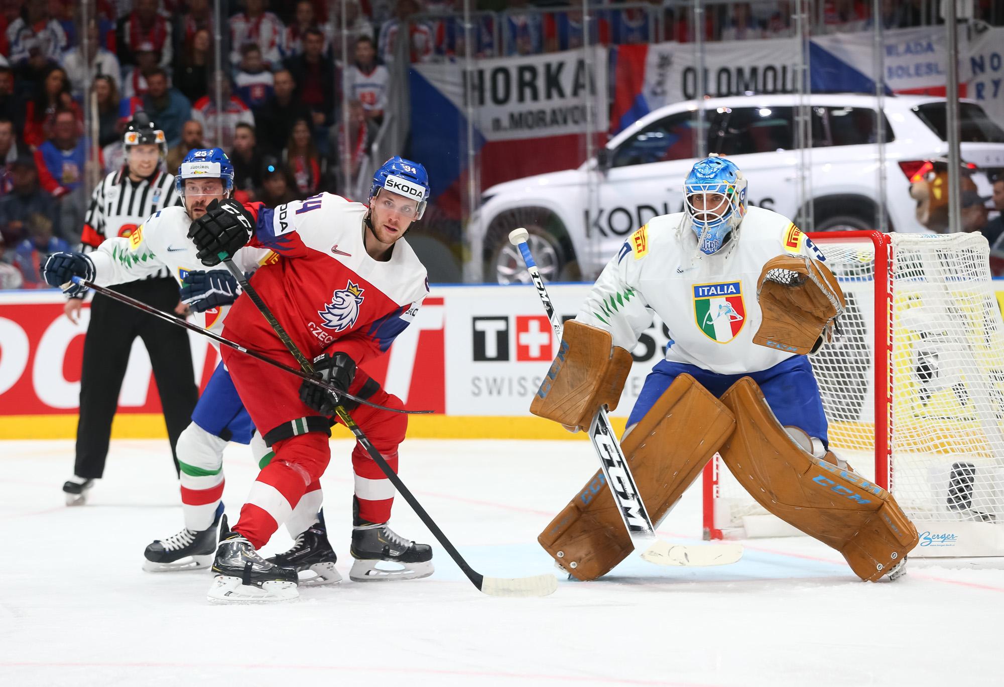 IIHF - Gallery: Czech Republic vs. Italy - 2019 IIHF Ice Hockey ...